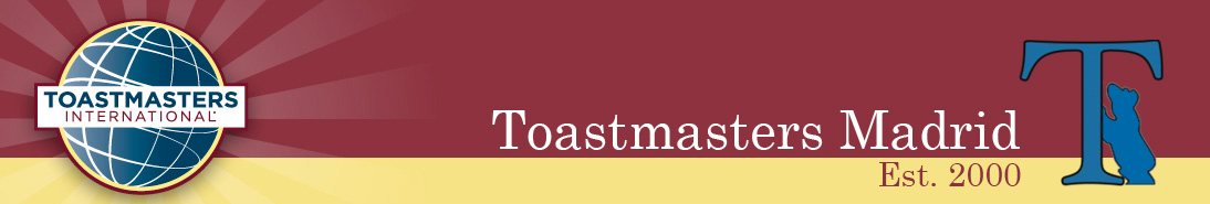 Toastmasters Madrid – Public Speaking and Leadership Club